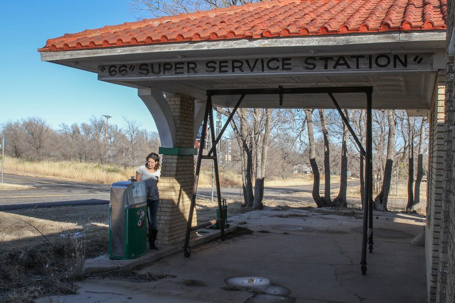 66 Super Service Station - Abandoned in Texas