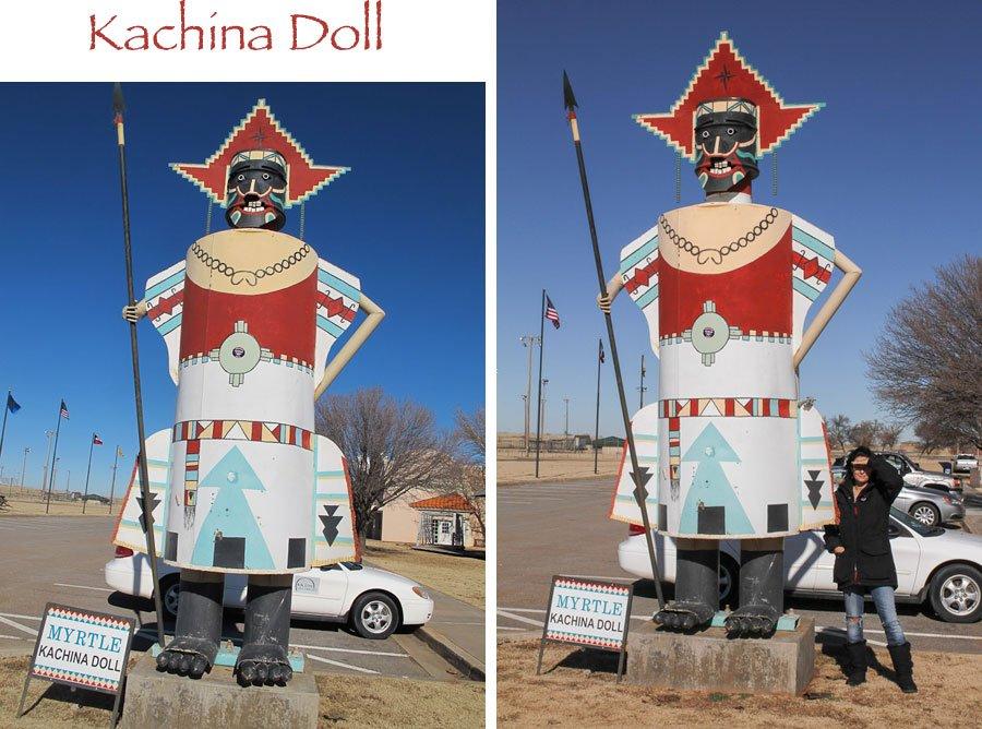 Giants on Route 66: Giant Kachinas