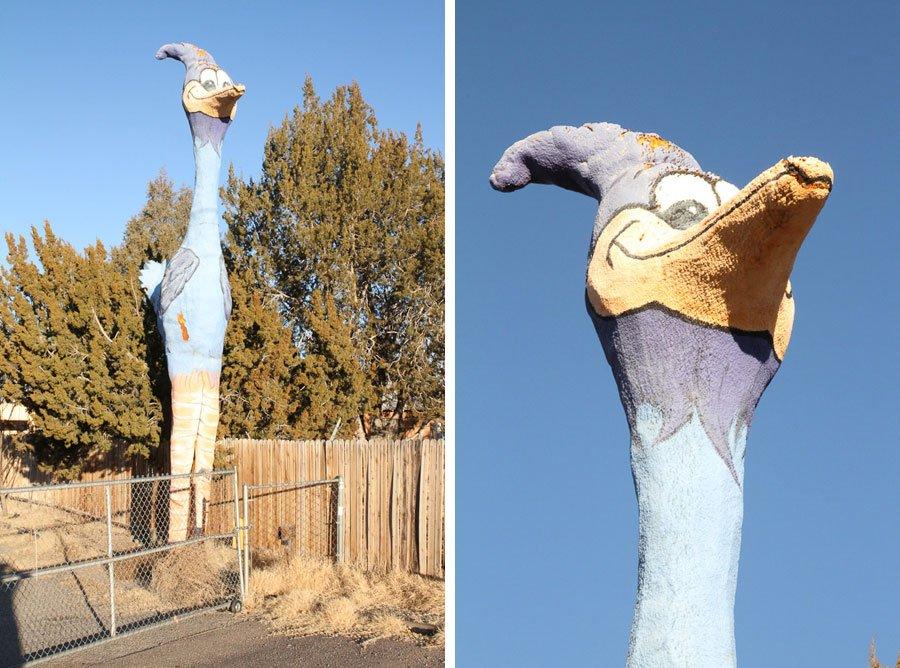 Giants on Route 66: Giant Roadrunner